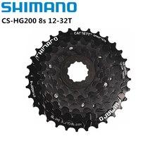Shimano HG200 7/8 Speed K7 12-28T 12-32T MTB Cassette Freewheel CS-HG200 7s 8s For MTB Mountain Bike Bicycle Freewheel