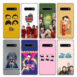 Чехол для телефона с теорией Большого Взрыва для Samsung Galaxy S20 Ultra S10E Note 10 9 8 S9 S8 J4 J6 J8 Plus + Lite S7 S6, чехол Coqu