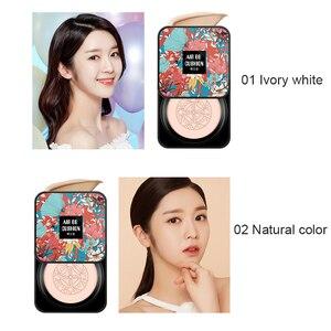 2 Colors Face Beauty Make Up Air Cushion Mushroom Head CC Cream Concealer Moisturizing Brighten Makeup BB Foundation Cream TSLM1