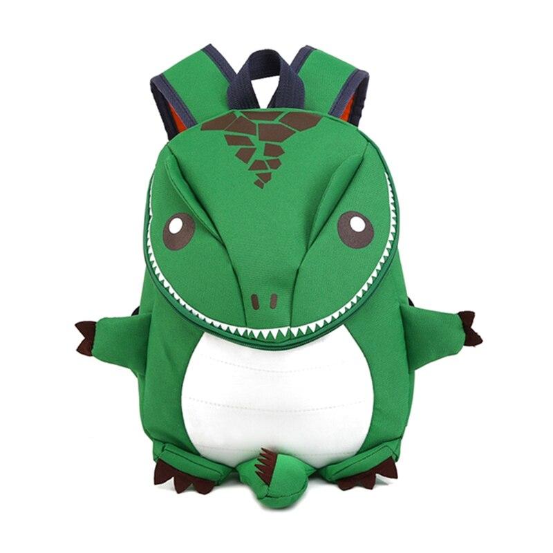 Mochila de dinosaurio de dibujos animados en 3D para niños, Mochila para niños, bolso escolar de animales de moda, mochilas encantadoras para jardín de infantes|Mochilas escolares| - AliExpress