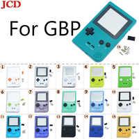 JCD alta calidad total de la vivienda Shell botones Mod para reparación de Nintendo para Gameboy de bolsillo de GBP con botones
