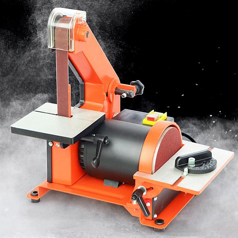 350W Copper Motor Knife Grinder Chamfering Machine Sanding Machine For Woodworking Belt Sander Metal Grinding/Polisher