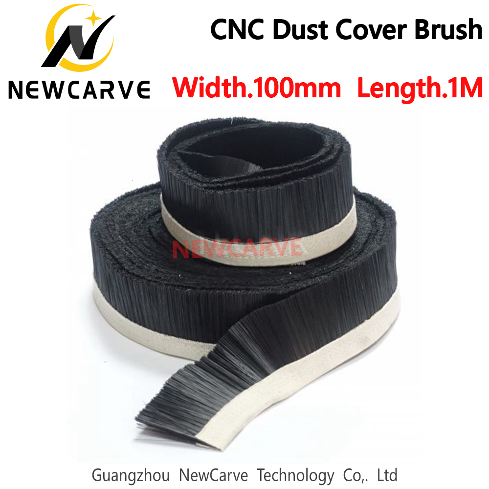Brush 1M X 100mm Vacuum Cleaner Engraving Machine Dust Collector Cover For CNC Router NEWCARVE