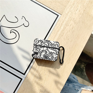 Image 3 - Graffiti Pattern Case for Apple Airpods Pro 3 2 1 Cover Cute Tpu Bluetooth Earphone Case for Airpod Capa Headphone Case Box