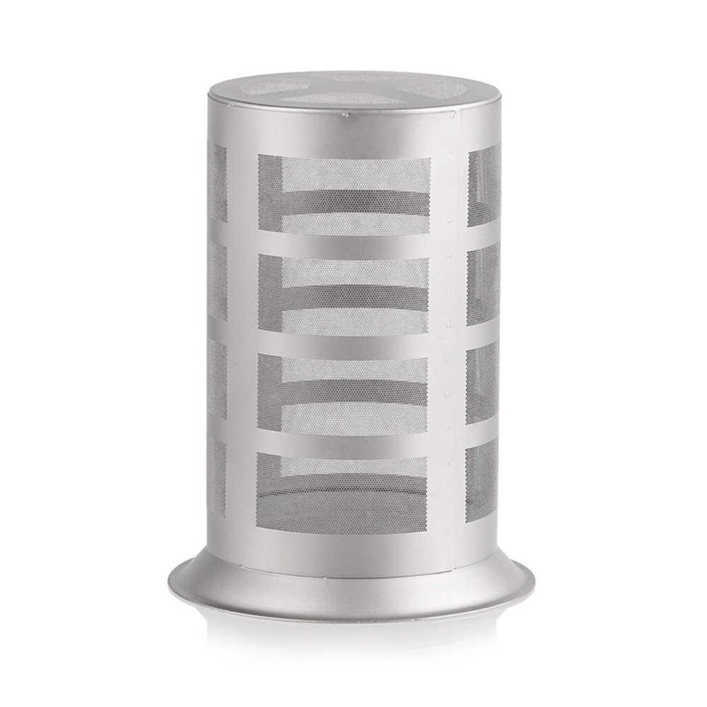 350ml 이중 벽 절연 티타늄 차 메이커 주전자 메쉬 infuser 이동식 infuser 뚜껑 홈 야외 캠핑 하이킹