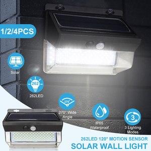 262 LED Solar Light Outdoor Wi