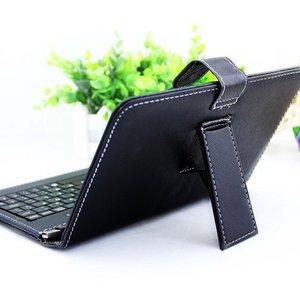 10,1 дюймовый чехол из искусственной кожи для планшета с подставкой Чехол s с клавиатурой Micro USB для Andriod защитный мобильный телефон|Чехлы для планшетов и электронных книг|   | АлиЭкспресс