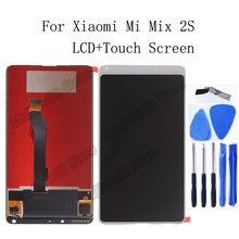 Оригинальный ЖК дисплей 599 дюйма для xiaomi mi mix 2s + дигитайзер