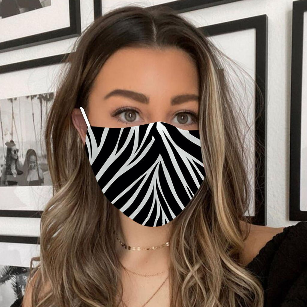 Washable Floral Print Adult Protective Mask Men Women Fashion Outdoor Breathable Dust Mask Resuable Mascarilla Masque FL50
