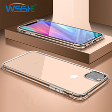 Transparent Shockproof Phone Case For iPhone 7 8 6 6S Plus Case Back Cover For iPhone 11 Pro Max Case For iPhone X XS MAX XR new iphone case for iphone 11 for iphone11 pro max 5 8 inches 6 1 inches 6 8 inches 6 6s 7 8 plus ix xr max x fashion back cover
