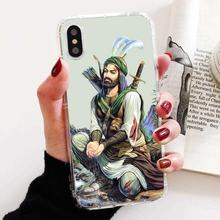 Islam Shia Imam Ali Iraq Arabicr For Motorola Moto G G2 G3 X4 E4 E5 G5 G5S G6 Z Z2 Z3 C Play Plus Soft TPU Rubber Silicon Cover(China)