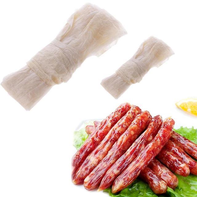 Tube de saucisse emballage de boyau de porc diamètre Hamburger Hot Dog fabricant de viande couverture cuisine outils de cuisson en gros chaud nouveau