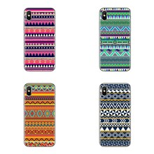 Voor iPod Touch Apple iPhone 4 4S 5 5S SE 5C 6 6S 7 8 X XR XS Plus MAX Mandala Bloem Zachte Transparante Gevallen Covers(China)
