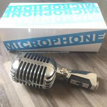 Micrófono profesional 55SH clásico estilo Vintage con voz en vivo micrófono dinámico Karaoke 55SH II micrófono de escenario con cable