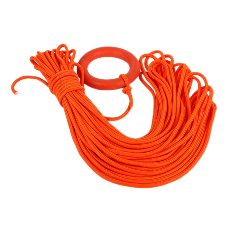 Outdoor Water Rescue Snorkeling Ropes 30 Meters Lifeline Climbing Safety Floating Floating Rope with Bracelet|Safety & Survival| |  - title=