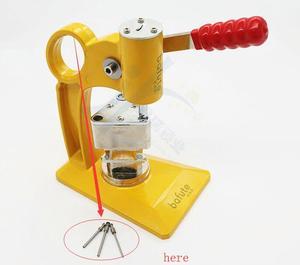 Image 3 - 1.5/2.0mm pino dedal para 2019 bafute ferramenta de fixação chave flip vice chave da aleta removedor de pino chave desmontar ferramenta de serralheiro