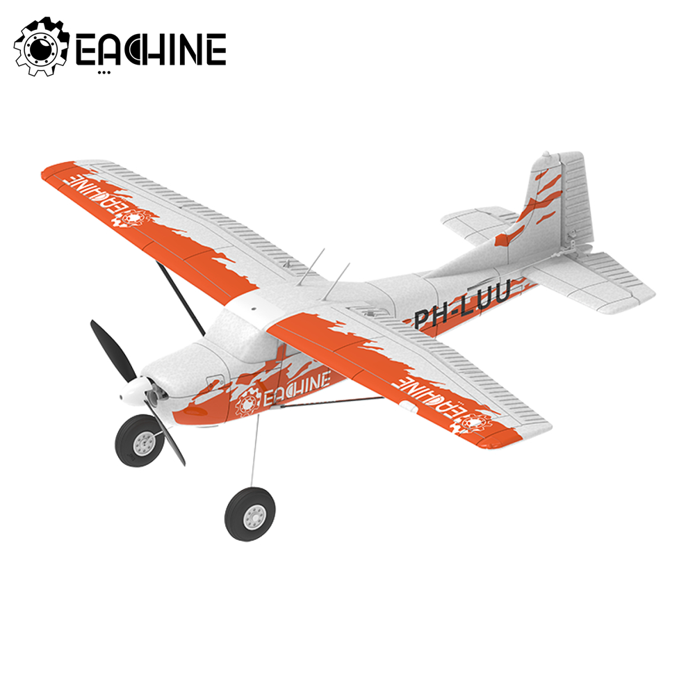 Eachine 6-Axis Gyro Stabilizer RC Airplane Trainer RTF Drone Outdoor Toys for Children Model Airplane Remote Control Plane