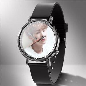 Image 3 - Mannen Horloge Rubber Liefhebbers Horloges Diy Kan 1 Stuk Custom U Foto Logo Foto Klok Bewerking Uur Drop Shipping Gift familie