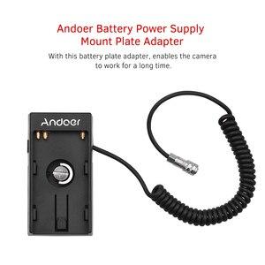 Камера Andoer DV блок питания для аккумулятора адаптер с 1/4 дюймовым винтом для карманных камер Blackmagic Cinema BMPCC 4K