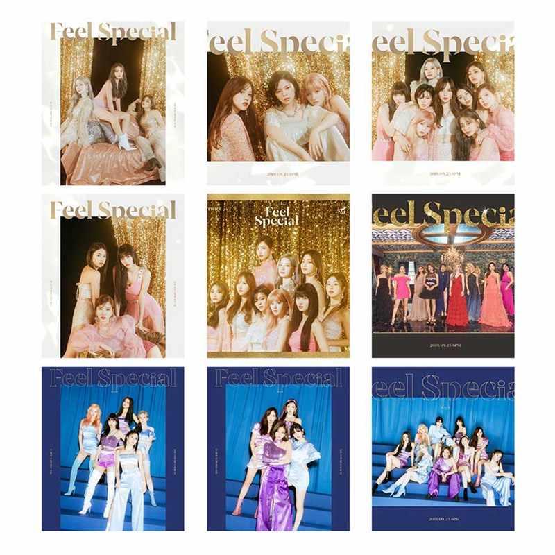9 stks/set TWEEMAAL VOELEN SPECIALE Foto Poster Lomo Kaarten Zelf Gemaakt Papier HD Photocard Fans Gift Collection