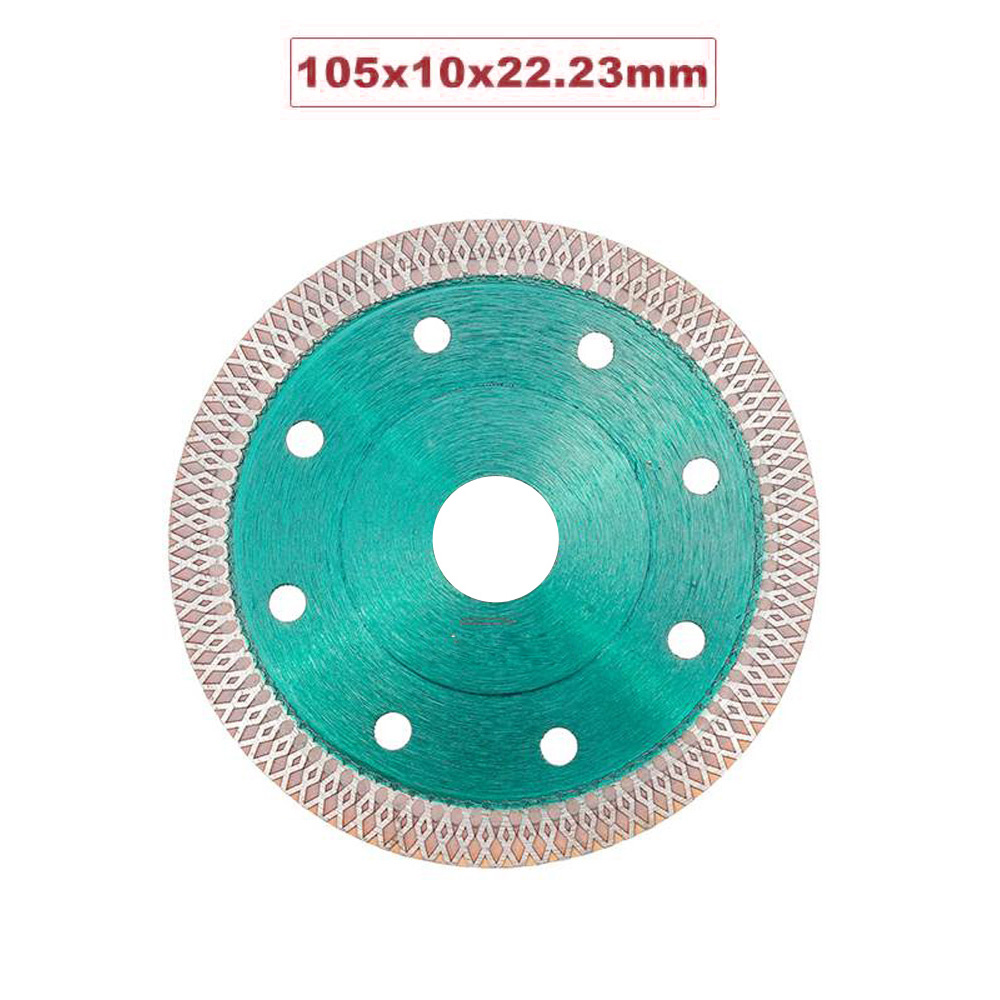 Hot Pressed Sintered Mesh Turbo Diamond Saw Cutter Disc Wheel For Porcelain Tile Angle Grinder Supplies