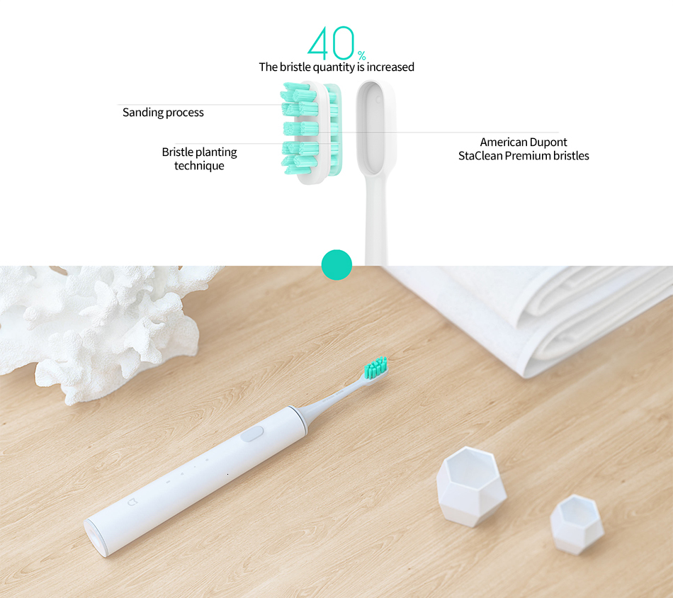 Original Xiaomi Mijia T500 Sonic Electric Toothbrush