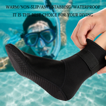 3mm Neoprene Diving Socks Non-slip Beach Boots Wetsuit Shoes Snorkeling Diving Surfing  1