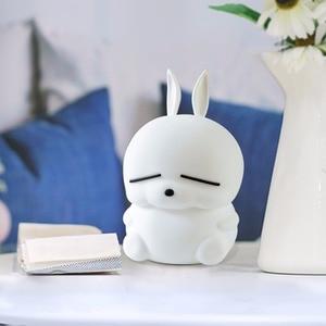 Image 5 - ماشيمارو LED ليلة ضوء اللمس الاستشعار الملونة USB الكرتون سيليكون الأرنب مصباح الأرنب أباجورة للأطفال أطفال الطفل هدية