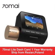 70mai Lite cámara de salpicadero inteligente para coche con dvr 1920*1080P dash coche cámara de aparcamiento Monitor 140 campo de visión (FOV) VERSIÓN NOCTURNA