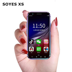SOYES XS/XS11/7S 4G LTE Android Smartphone Quad Core Dual Sim Wifi Unlock Face ID Mini Mobile Phone Google Play Store Free Case