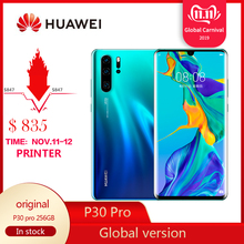 Original Global Huawei P30 Pro Smartphone 8GB RAM 256GB ROM 6.47 inch 4G GSM And