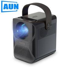 Aun et30 completo hd 1080p projetor de cinema em casa mini projetor para móvel portátil led inteligente beamer et30c wi fi sem fio exibição