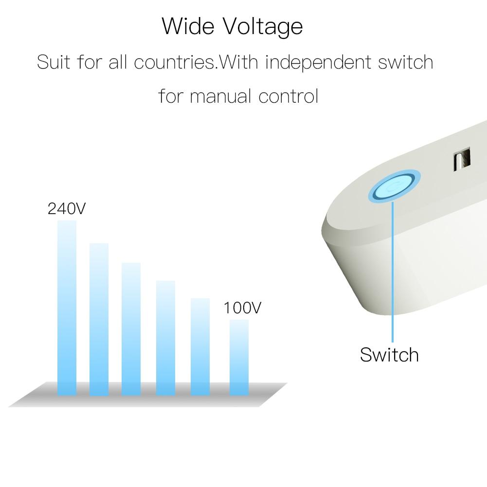 Великобритания ZigBee3.0 двойной USB беспроводной разъем SmartThings приложение дистанционное управление эхо плюс Голосовое управление работа с Alexa Google Home