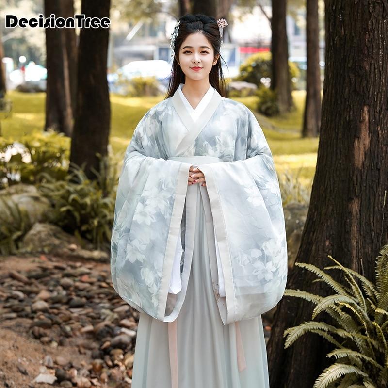 2020 Hanfu Women Chinese Dance Costumes Qing Dynasty Costume Chinese Hanfu Traditional Chinese Dress