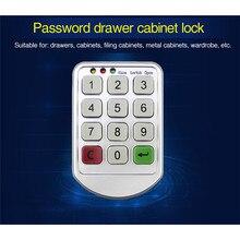 цена на Smart Password Lock Storage Cabinets Electronic Lock Drawer File Cabinet Electromagnetic Lock The Wardrobe Door Lock Serratura