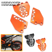 For KTM Duke 390 Motorcycle Accessories 250 Front Rear Step Side Guard 2017-2019 Wing Cover
