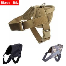 Dog-Vests Dog-Body-Armor Army Tactical Service Training Military Hunting Outdoor