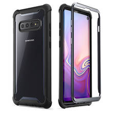 For Samsung Galaxy S10 Case 6.1 inch i Blason Ares Full Body Rugged Clear Bumper Cover WITHOUT Built in Screen Protector