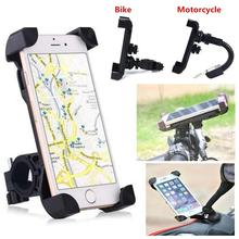 1Set Bicycle Phone Holder For iPhone Samsung Motorcycle Mobile Cellphone Holder Bike Handlebar Clip Stand GPS Mount Bracket raxfly bicycle phone holder for iphone samsung motorcycle mobile cellphone holder bike handlebar clip stand gps mount bracket