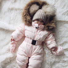 New 0-24M winter Romper Baby Girl Clothes Baby