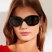 2019 Hot Fashion High Quality Cute Sexy Ladies Cat Eye Sunglasses  Retro Oversized Women Luxury Brand