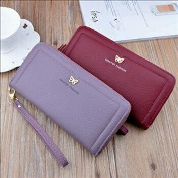 Long wallet wallet women's wallet cartoon retro wallet witch wallet luxury wallet brand wallet small wallet surprise Wallet фото
