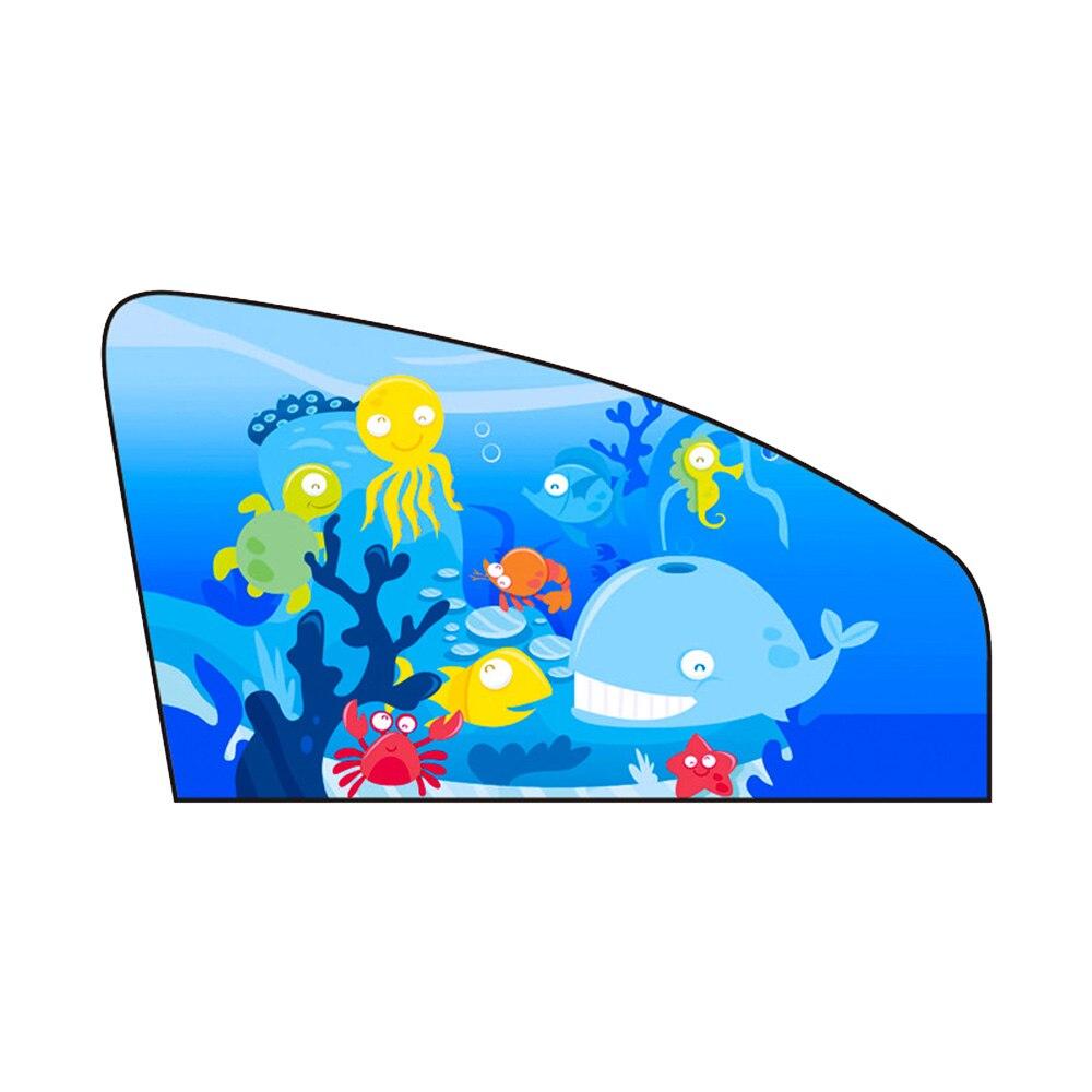 1 шт. Регулируемый магнитный автомобильный боковое окно солнцезащитный козырек занавеска Окно Солнцезащитный козырек протектор универсальный для детей - Цвет: A