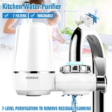 Faucet Filtro Tap-Water-Purifier Replacement Removal Percolator Ceramic Washable Kitchen