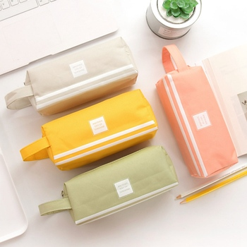 Large Capacity student Pencil Cases Bags Pouch Creative Pen Box Case School Office Stationary Supplies