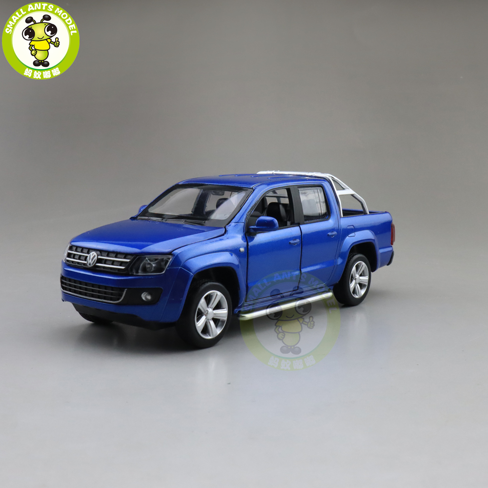 1/30 Caipo AMAROK Pickup Truck Diecast Model CAR Toys For Kids Pull Back Music Light Boy Girl Gifts