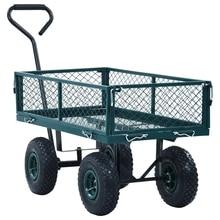 vidaXL Home Garden Cart Maximum Loading 250 Kg Hand Steel