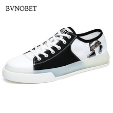 BVNOBET Luxury Brand Casual Shoes Men Breathable Summer Flats Skateboarding Footwear Basket Homme Chaussure
