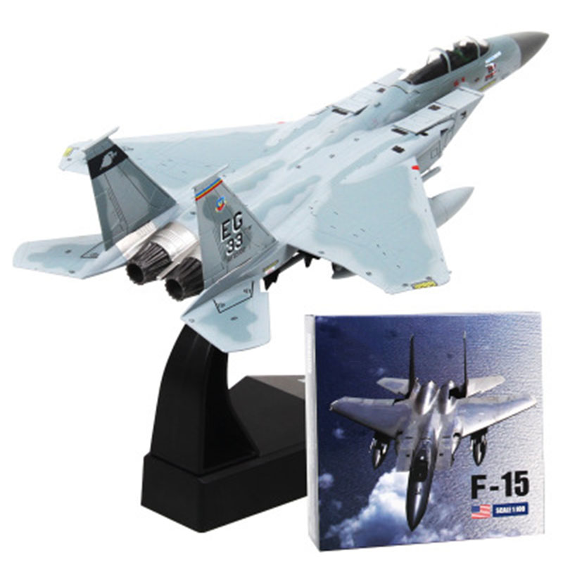 1/100 alloy F14 / F15 aircraft model wholesale simulation static American aviation model ornaments collectible toys image