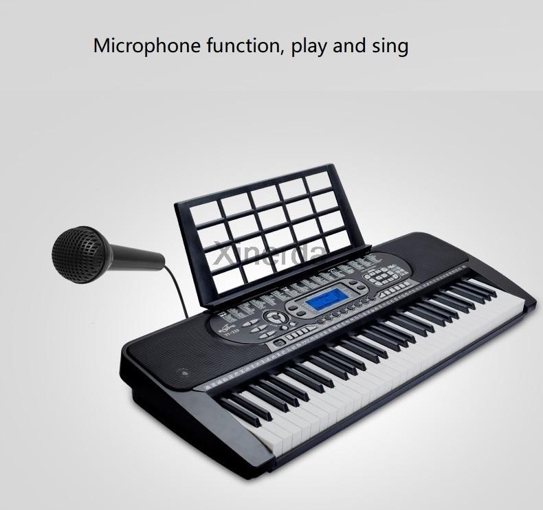 de música digital placa chave iniciante piano